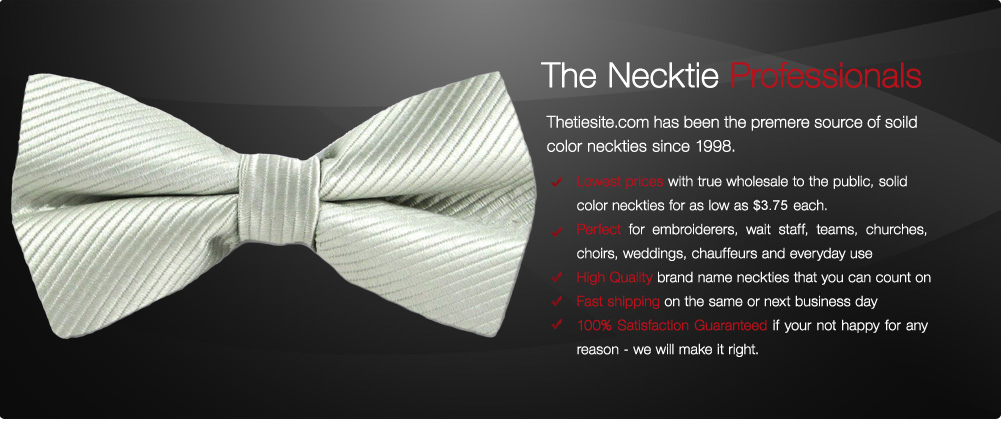 cheap solid color ties
